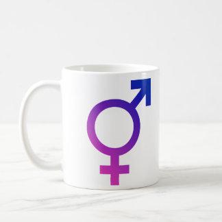 Transgender Hermaphrodite Gender Pride Symbol Coffee Mug
