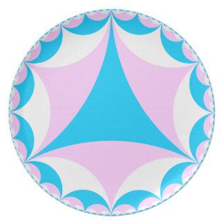 Transgender/Intersex flag plate