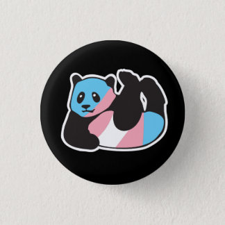 Transgender Panda LGBT Pride Button