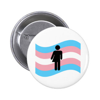 Transgender Pinback Button