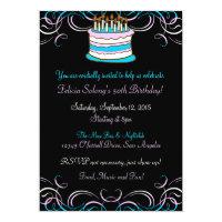 Transgender Pride Birthday Party Invitation