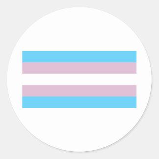 Transgender Pride Classic Round Sticker