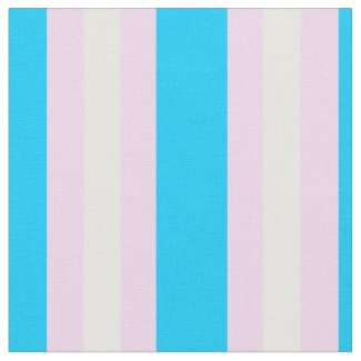 Transgender Pride Fabric by the Yard (Vertical)