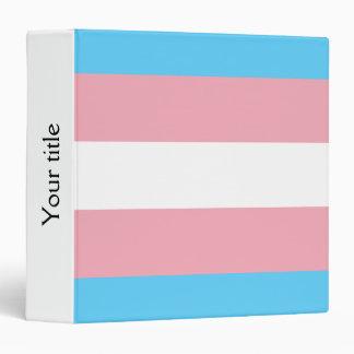 Transgender pride flag Binder