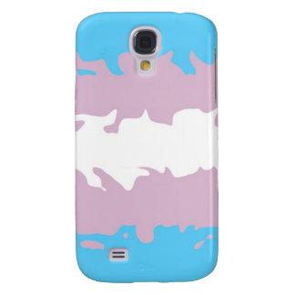 Transgender Pride Flag (Fuzzy) Samsung S4 Case