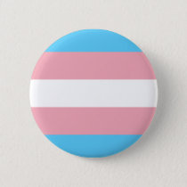 Transgender Pride Flag - LGBT Rainbow Pinback Button