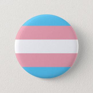 Transgender Pride Flag - LGBT Rainbow Pinback Button