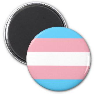 Transgender Pride Flag - LGBT Trans Rainbow Magnet