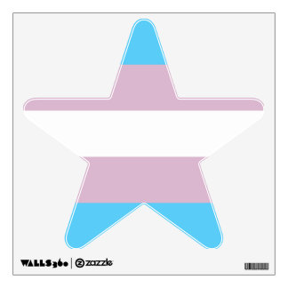 Transgender Pride Flag Wall Decal
