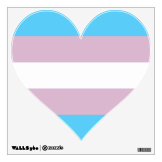 Transgender Pride Flag Wall Decal