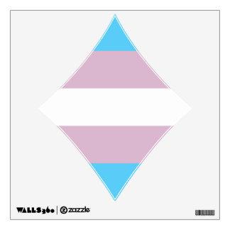 Transgender Pride Flag Wall Sticker