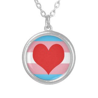 Transgender Pride Pendant