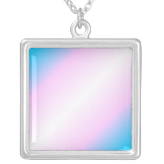 Transgender Pride necklace - gradient