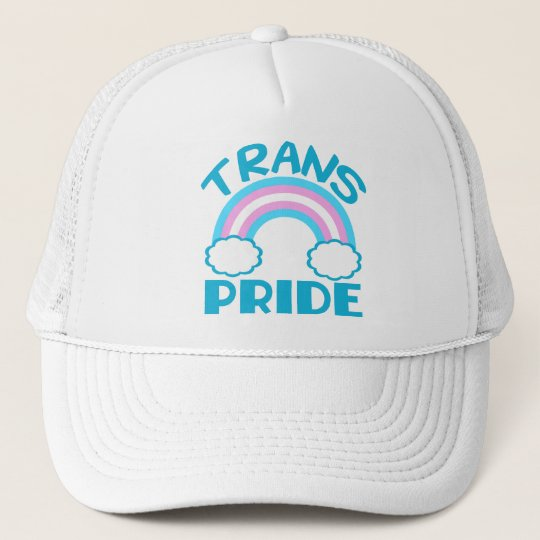 ab854d4ed4d Transgender Pride Trucker Hat