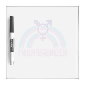 TRANSGENDER RAINBOW FLAG Dry-Erase BOARD