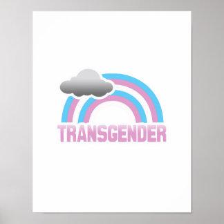 TRANSGENDER RAINBOW POSTER