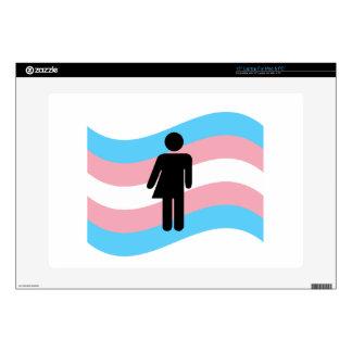 Transgender Skin For Laptop