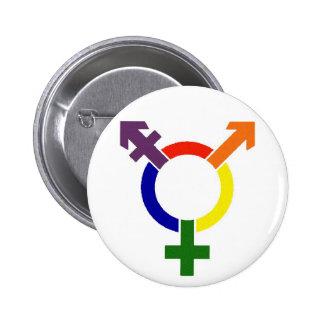 Transgender Symbol 2 Inch Round Button