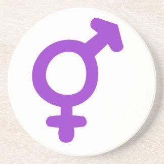 Transgender Symbol Drink Coaster