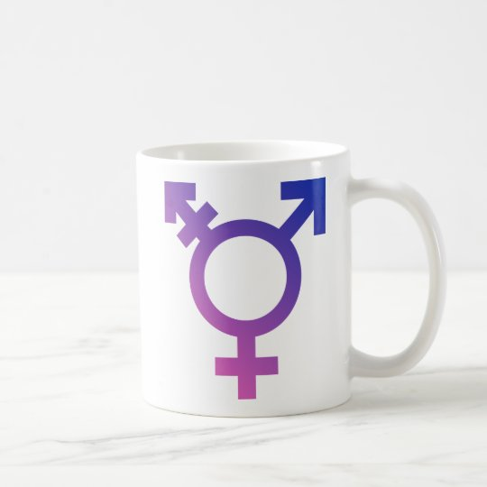 Transgender Symbol Logo Coffee Mug