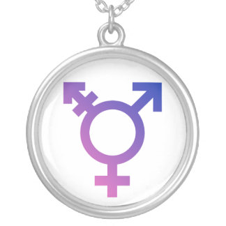 Transgender Symbol Logo Custom Jewelry