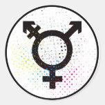 transgender symbol sticker