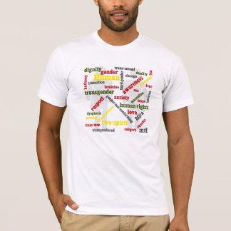 transgender word graphic shirt