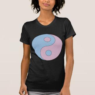 Transgender Yin Yang Symbol Tshirt