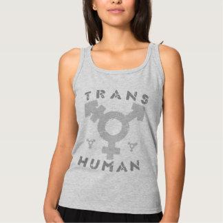 TRANSHUMAN - Soy un Posthuman más allá del género, Playera De Tirantes Básica