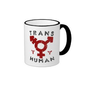 TRANSHUMAN - Soy un Posthuman más allá del género, Taza De Dos Colores