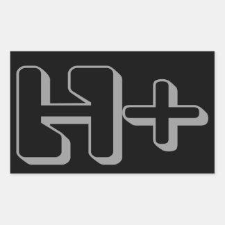 TRANSHUMANISM Symbol Sticker