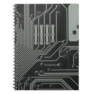 TRANSHUMANIST abstract pattern Nº4 Notebook