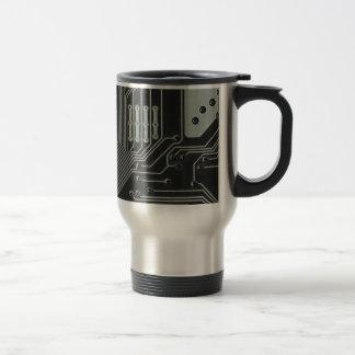 TRANSHUMANIST abstract pattern Nº4 Travel Mug