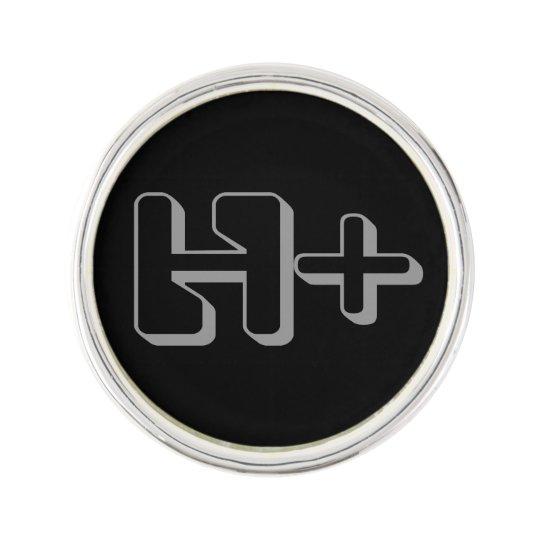 Transhumanist lapel badge lapel pin   Zazzle.com
