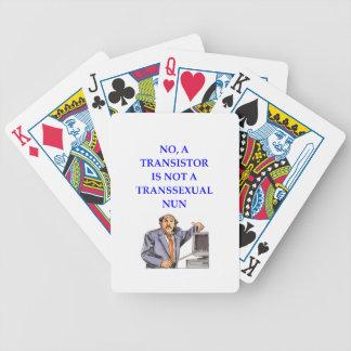 transister cartas de juego