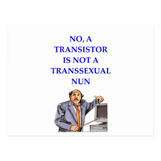 transister postcard