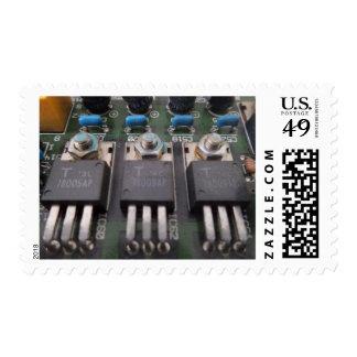 Transistor Circuit Stamp