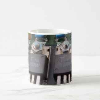 Transistor Circuit White 11 oz Classic White Mug