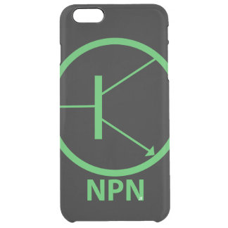 Transistor Custom iPhone 6 Plus Clearly™ Deflector Clear iPhone 6 Plus Case