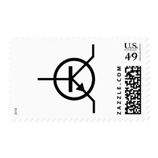 transistor electronics postage stamp