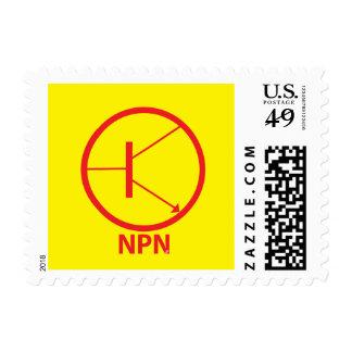 Transistor - NPN Estampilla