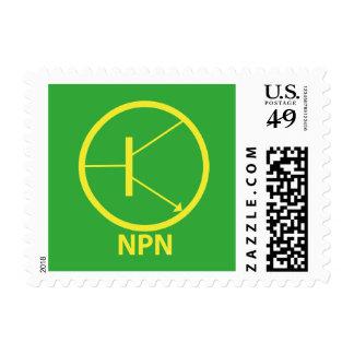 Transistor - NPN Sello Postal