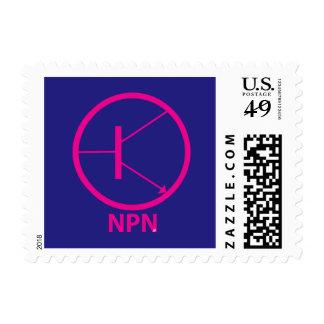Transistor - NPN Timbres Postales
