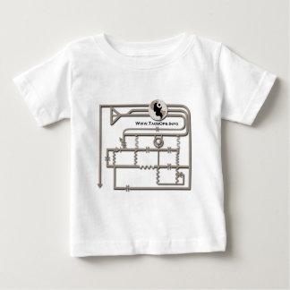 Transistor Radio Diagram Taos Ops Baby T-Shirt