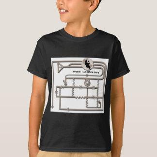 Transistor Radio Diagram Taos Ops T-Shirt