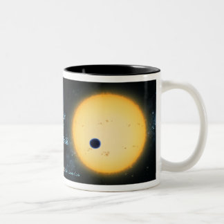 Transit of HD209458 Mug