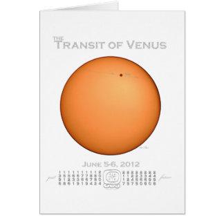 Transit of Venus - 2012 Card