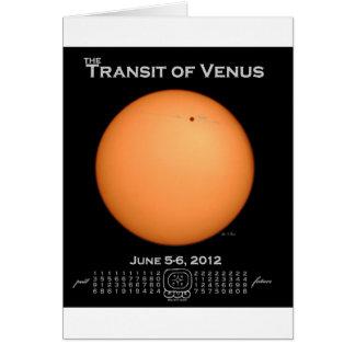 Transit of Venus 2012 Greeting Card