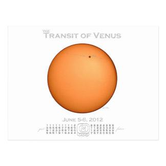 Transit of Venus - 2012 Postcard