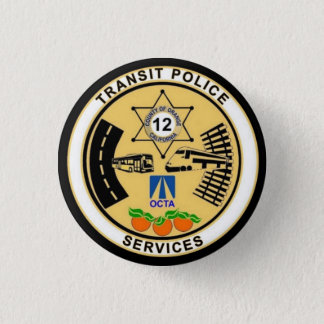 Transit Police Services Pinback Button